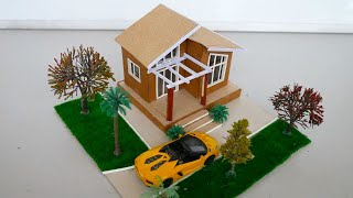 Miniature Dollhouse DIY  Easy and Simple