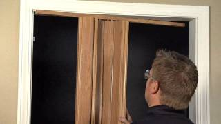 Oakmont, Encore or Pananche Folding Door Installation - Double Door (with Magnets)