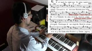 Lesson: Accompanying Gregorian Chant in Mode 3; Ideas and Patterns