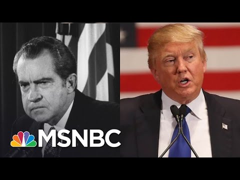 Echoes Of Watergate In Trump Administration | Morning Joe | MSNBC