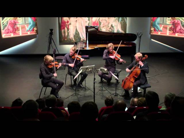 "The Danish String Quartet play's ""Wood Works"""
