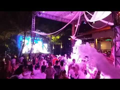 Foam Party At Hard Rock