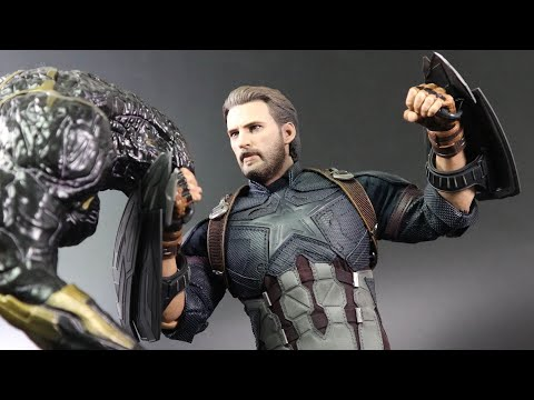 "[Unboxing]Hot Toys Avengers: Infinity War ""Captain America""1/6th scale Collectible Figure"