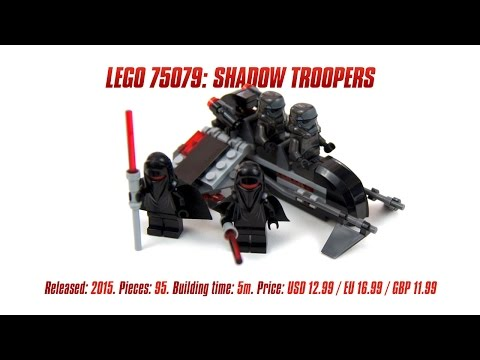 'Lego Star Wars 75079: Shadow Troopers' Unboxing & Review
