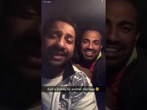 Sarfaraz, Babar Azam and Wahab Riaz SINGING- Mubarak ho tum ko