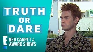 """Riverdale"" Stars Play 'Truth or Dare' at Comic-Con 2018 | E! Red Carpet & Award Shows"