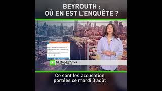 Un an après l'explosion dans le port de Beyrouth : où en est l'enquête ?