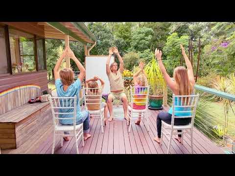 Chair Yoga at School... Teaser - Level 2, 95 Hour Rainbow Kids ...