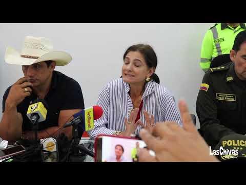 RUEDA PRENSA MINISTRA DE TRANSPORTE EN YOPAL