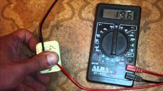 How to test a PTC relay (fridge compressor starting relay)