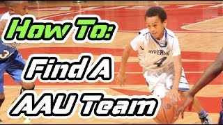 How To Pick An AAU Basketball Team