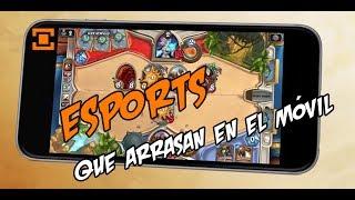 Los juegos de eSports que más lo están petando en el móvil