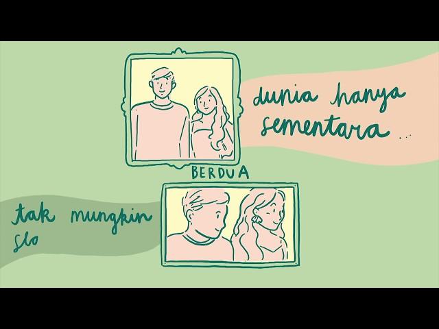 Dengarkan Dia - Teman Sampai Surga OST #TemanTapiMenikah 2 - Lyrics Video