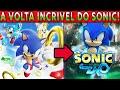 A Volta Incr vel De Sonic jogo Mundo Aberto Chegou dese