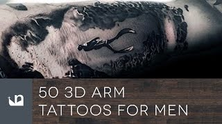 50 3D Arm Tattoos For Men