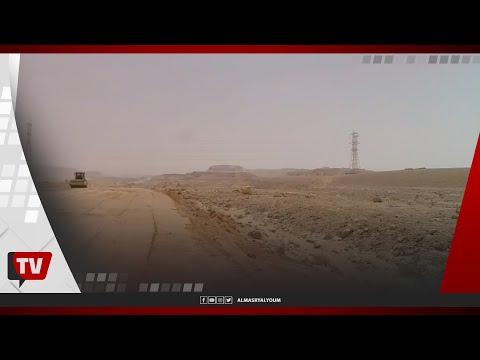 وزير النقل يتفقد أعمال الحفر للقطار السريع بمحطة ١٥ مايو