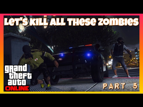 Low Level Among The Walking Dead | GTAV Online Gameplay (PS4 PRO)