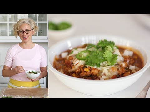 Instant Pot Turkey Chili- Everyday Food with Sarah Carey