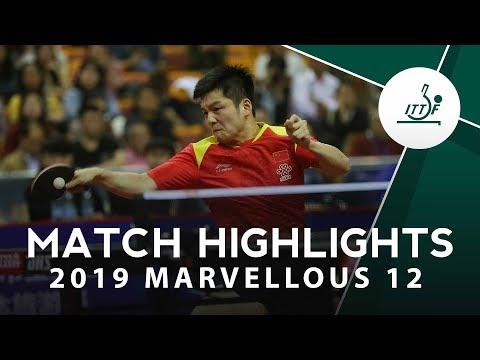 Fan Zhendong vs Xu Xin | 2019 Marvellous 12 Highlights