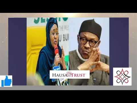 Ta faru ta kare) Bayan yajin da Aisha tayi ta aikowa Buhari wani sako