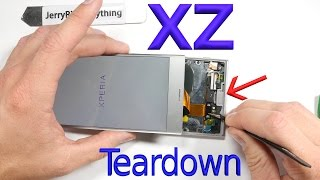 Sony Xperia XZ Screen Repair - Battery Replacement - Complete Teardown