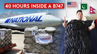 National Airlines B747 Cargo Mission Over the Himalayas (US – Pakistan – Nepal)