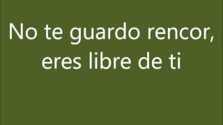 Mi fracaso (No te guardo rencor) - Juan Gabriel (Letra)- By: Tita