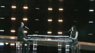 """Eurovision Song Contest 2010. Romania first rehearsal. Paula Seling & Ovi   """"Playing With Fire"""""""