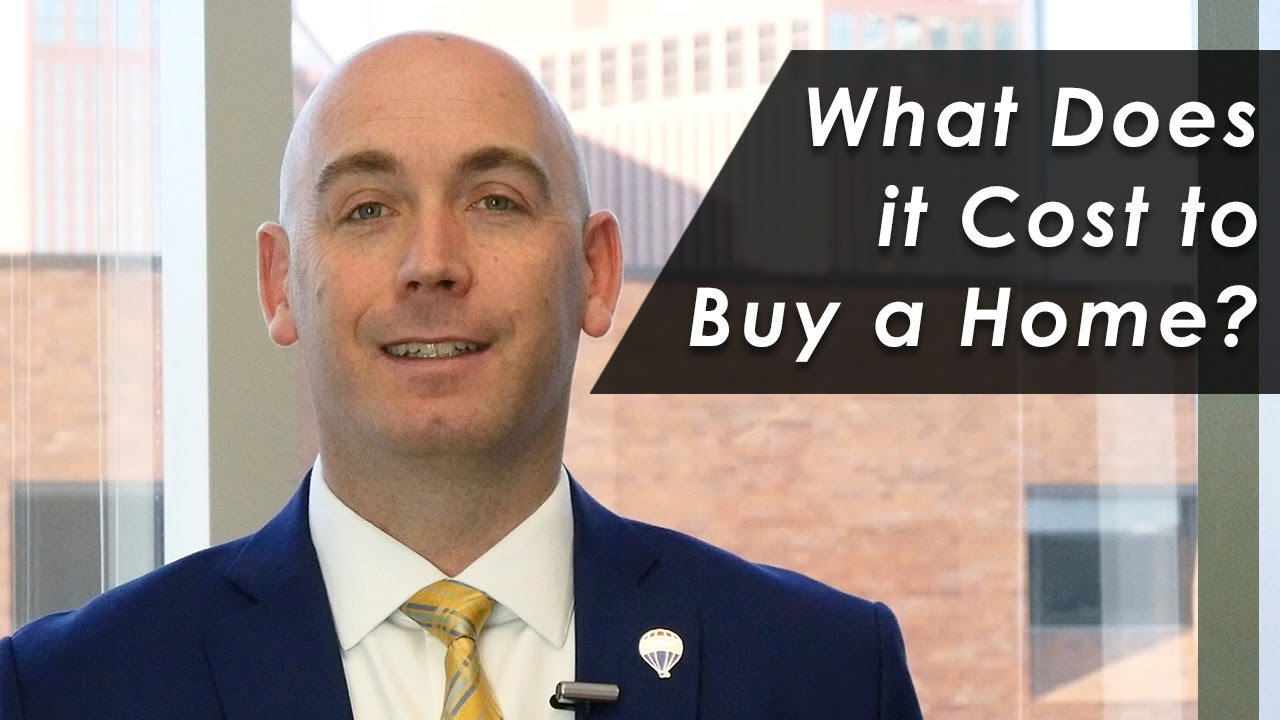 What Buying a Home Will Cost You