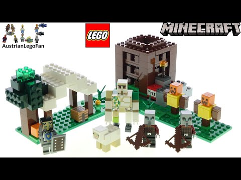 LEGO Minecraft 21159 Avanpostul Pillager