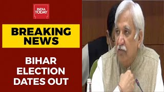 Bihar Election 2020 Dates Live: Bihar Polls To Be Held On Oct 28, Nov 3 And 7; Results Nov 10th - Download this Video in MP3, M4A, WEBM, MP4, 3GP