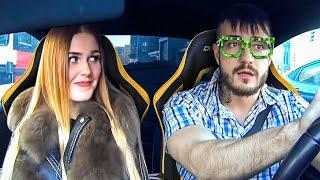 Парень притворился задротом перед красивой девушкой - Видео онлайн