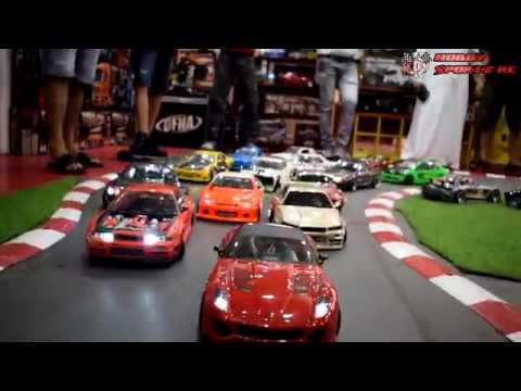 RC Drift car Race at Dubai-Hobby Sportz Jumeirah Branch