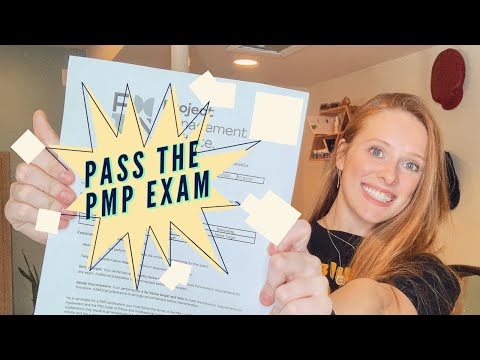 How to Pass the PMP Exam on your FIRST TRY - YouTube
