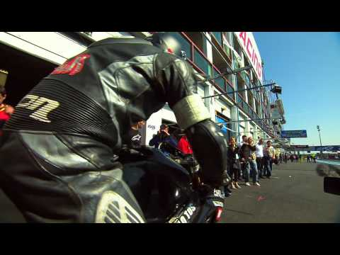 Motorbike tires from the racetrack to the road – Grip – Inside Racing 2011 – Ep.8