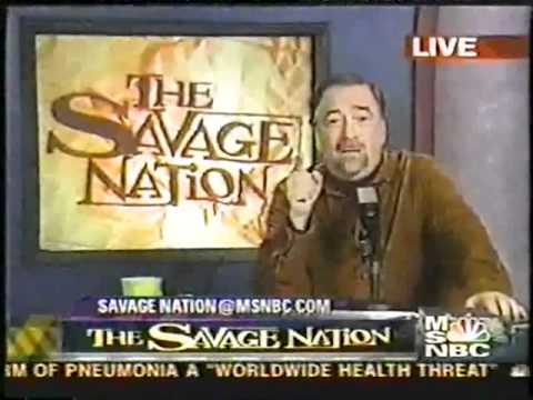 Michael Savage Rare Television Series on MSNBC (Episode 2) (2003)