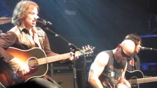 Europe - Drink and a Smile live acoustic video clip, O2 Academy, Bristol, England 11/29/2012