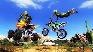Juego De Motos Para Niños - Carreras De Moto Cross &ATV