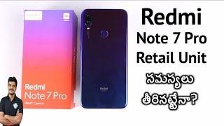 Redmi Note 7 Pro Retail Unit Unboxing & Google Camera Test ll in Telugu ll