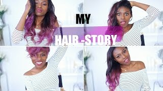 MY (LONG) HAIR-STORY | NATURAL, RELAXER, PRODUCTS, WEAVES & MORE