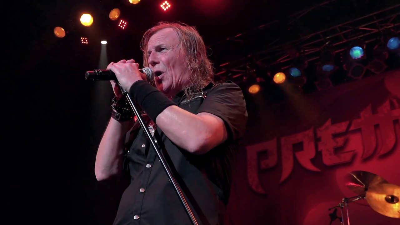 PRETTY MAIDS - Sin decade (live)