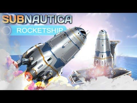 Stavba Rakety začíná ! - Subnautica S3 - díl 52.