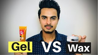 Gambar cover Difference between Hair Wax and Gel | Hair Wax VS Gel