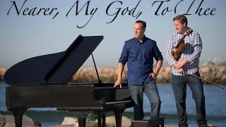 Nearer, My God, To Thee - Viola & Piano on the Beach - Amazing Footage