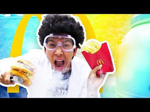MARMAR SCIENCE: Liquid Nitrogen VS. McDonalds