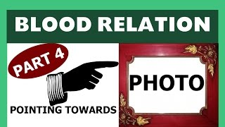 blood relation Part 4 (Pointing towards Photograph) for SSC , BANK PO , Clerk , UPSC , NDA CDS etc