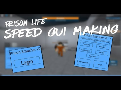 Exploiting in Prison Life (PrisonWrecker GUI) (WORKING 2019