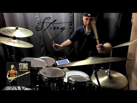 Sting - If I Ever Lose My Faith In You (My Songs Version) | Drum Cover by Kyle Davis