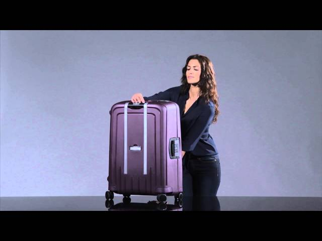 S'Cure DLX Trolley mit 4 Rollen 55cm video 2