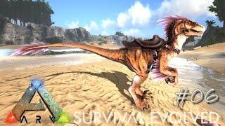 ARK: Survival Evolved Ep 06 - RAPTOR PACK  !!! (Server Gameplay)